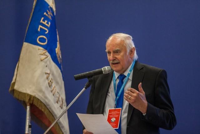 Eugeniusz Nowak po raz piąty z rzędu został wybrany prezesem Kujawsko - Pomorskiego ZPN