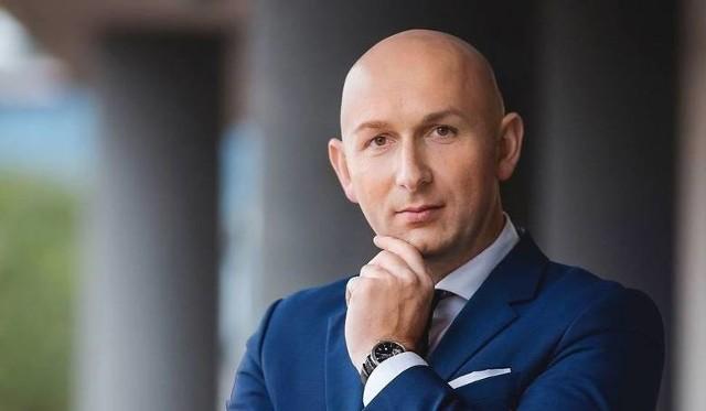 Prezes Specjalnej Strefy Ekonomicznej Starachowice Marcin Perz.