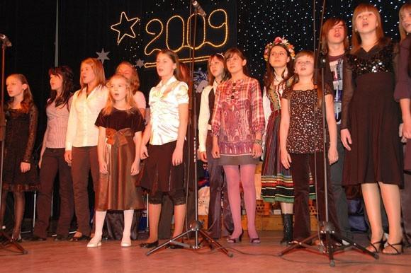 """Ogólnopolski Festiwal Koledy i Pastoralki Ogólnopolski Festiwal Koledy i Pastoralki Wspólczesnej """"Kantyczka 2009"""" w Bielsku Podlaskim"""