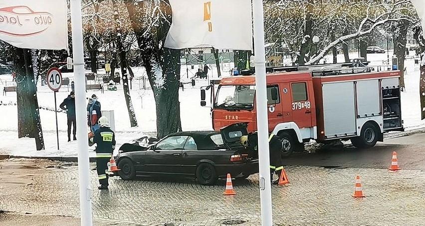 Do zdarzenia w Skwierzynie doszło kilka minut po godz. 12.00...