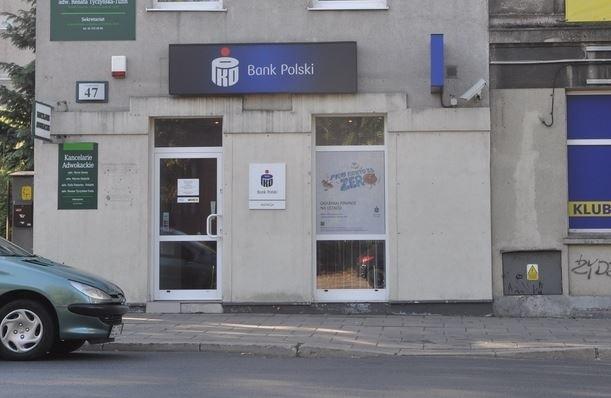 Do napadu doszło w banku w Pabianicach