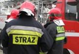 Pożar samochodu na ul. Okopowej w Gdańsku