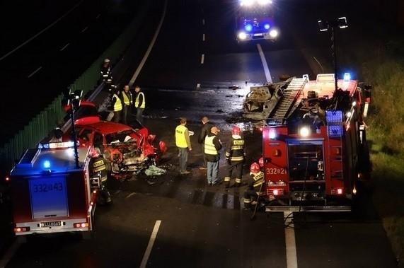 Wypadek w Jasienicy na S1 Więcej zdjęć z wypadku zobacz KLIKNIJ TUTAJ