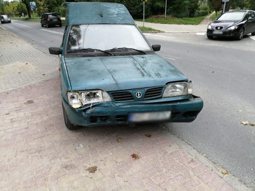 100-letni kierowca spowodował wypadek w Olsztynie. Policja zabrała mu prawo jazdy, które miał od 68 lat!
