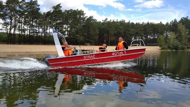 We wtorek na jeziorze Byszyno w powiecie białogardzkim odbyły się ćwiczenia strażaków z Komendy Powiatowej PSP w Białogardzie.