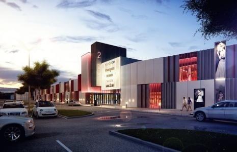 Tak będzie wyglądało centrum handlowe w Miedzianej Górze.