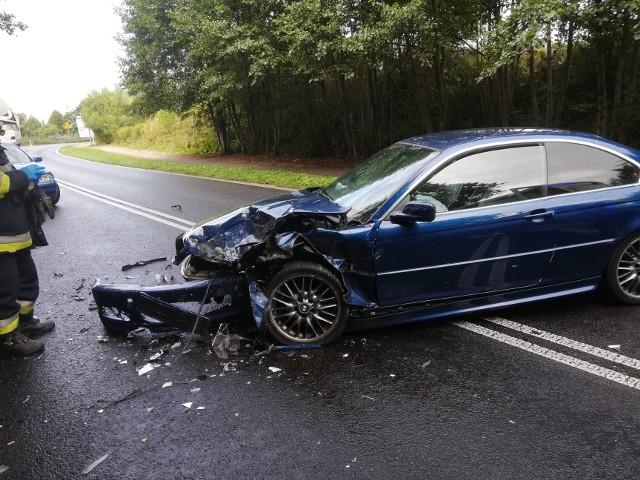 Do groźnego zdarzenia doszło w piątek przed południem na drodze nr 163.