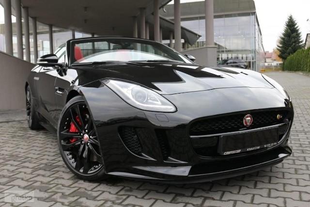 Jaguar F-type 3.0 V6 s/c (380KM) S Convertible 379 900,00 złRok produkcji 2015Rodzaj paliwa benzynaPojemność silnika [cm3] 2995Moc silnika 380Skrzynia biegów automatycznaPrzebieg 6200 kmKliknij i zobacz