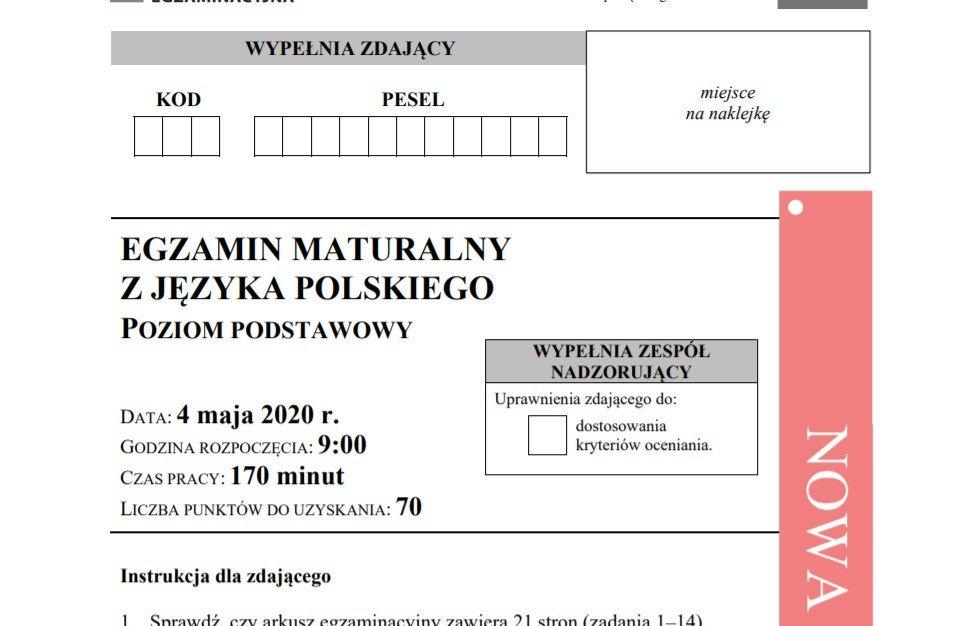 oke matura j polski