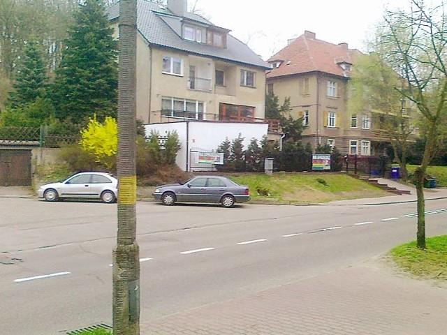 To zdjęcie wykonał Czytelnik. Jest skrzyżowanie i jest mercedes. Wicekomendanta Krzysztofa Kowalczyka.