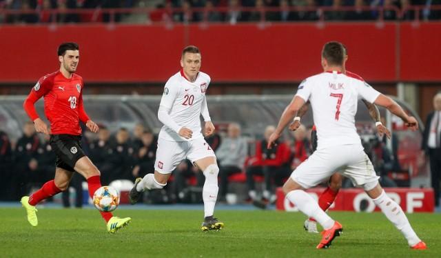 Polacy rozpoczęli eliminacje mistrzostw Europy od zwycięstwa nad Austrią.