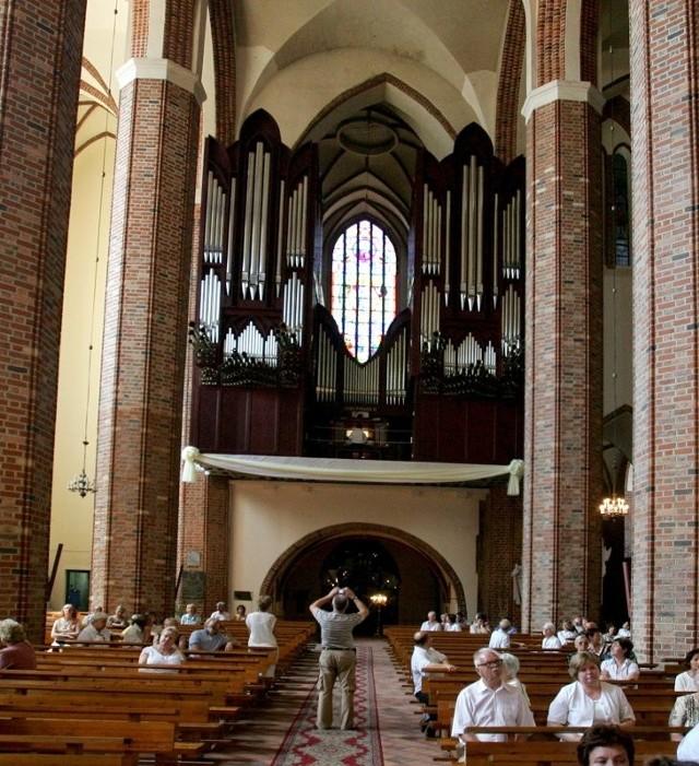 Organy w katedrze są tak znakomitej jakości, ze żal byłoby ich nie wykorzystać. W najbliższą sobotę rozpoczyna się w Szczecinie festiwal organowy.