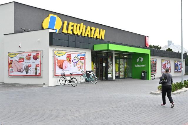 Nowoczesny sklep sieci Lewiatan otwarto ostatni w dzielnicy Białogon w Kielcach.