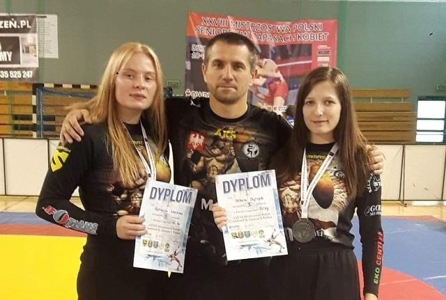 Patrycja Wochna, Nikola Dytrych i trener Grzegorz Ludwig osiągnęli duży sukces. Przeszli do historii AKS Piotrków