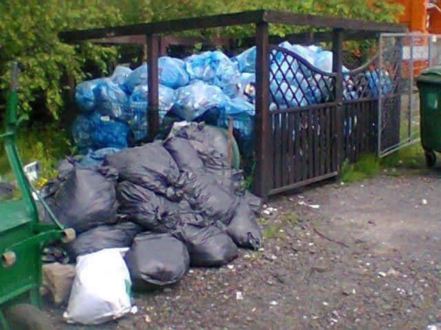 Śmieci już jest dużo więcej niż zakłada GOAP.