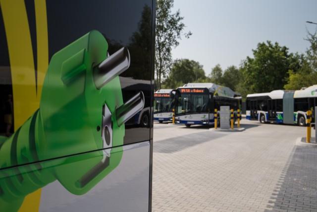 Od 17 kwietnia z przegubowych autobusów elektrycznych mogą korzystać pasażerowie linii nr 503 (Nowy Bieżanów Południe – Górka Narodowa).