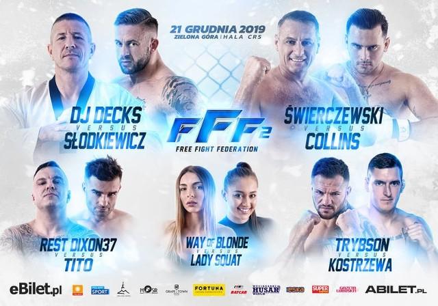 Free Fight Federation 2 GDZIE OGLĄDAĆ GALĘ? Transmisja ONLINE i w TV. Stream online za darmo [20.12.2019]