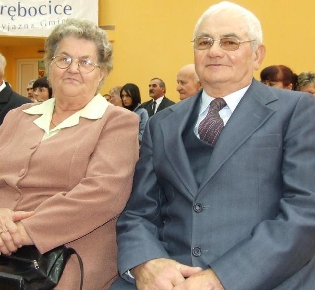 Julianna i Andrzej Spiakowie mieszkają w Proszycach. Wspólnie przeżyli aż 50 lat