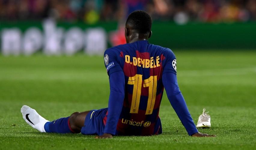 Ousmane Dembele więcej czasu spędzał ostatnio w lekarskich gabinetach, niż na boisku