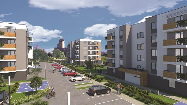 Tak maja wyglądać bloki osiedla komunalnego przy ulicy Traugutta w Sosnowcu.