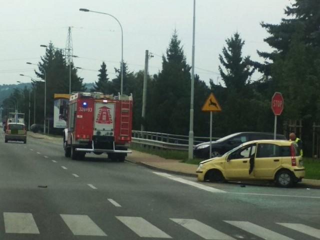 Miejsce wypadku na ul. Sikorskiego w Rzeszowie.