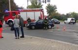 Wypadek na skrzyżowaniu Borowskiej i Glinianej