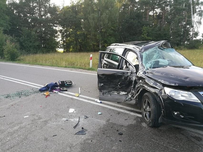 Groźny wypadek na skrzyżowaniu w Rokitach. Pięć osób rannych...