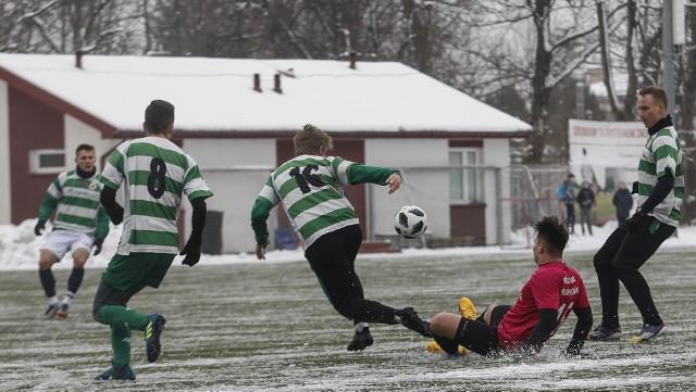 Izolator Boguchwała zremisował 0:0 z Ekoballem Stalą Sanok w meczu sparingowym