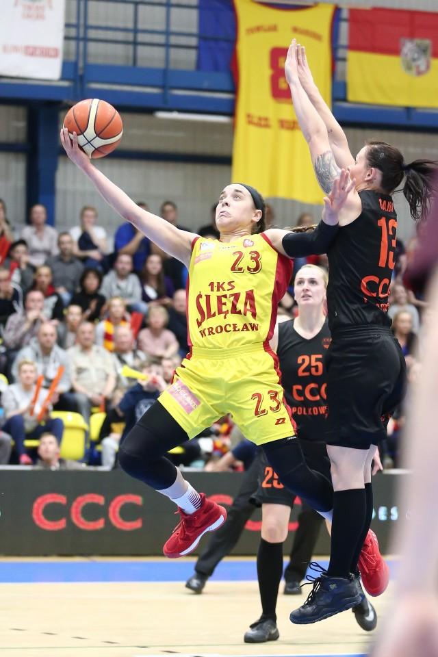 Marissa Kastanek była nie do zatrzymania w serii z CCC Polkowice. Czy będzie ważną postacią podczas finałów Basket Ligi Kobiet?