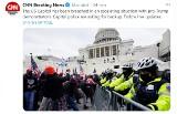 Zwolennicy Trumpa wdarli się do Kapitolu. Dantejskie sceny w USA! W zamieszkach w Waszyngtonie zginęły 4 osoby