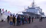 Chińskie okręty wojenne w Gdyni udostępnione zwiedzającym [ZDJĘCIA, WIDEO]