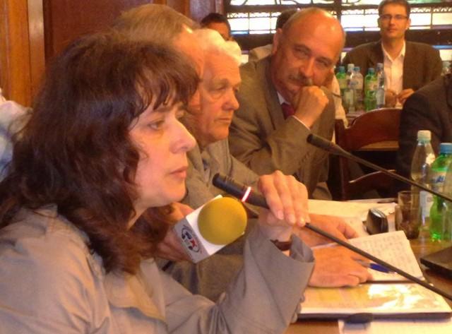 Joanna Pawłowicz na sesji RM Szczecinek domagała się energicznych działań na rzecz poprawy jakości powietrza.
