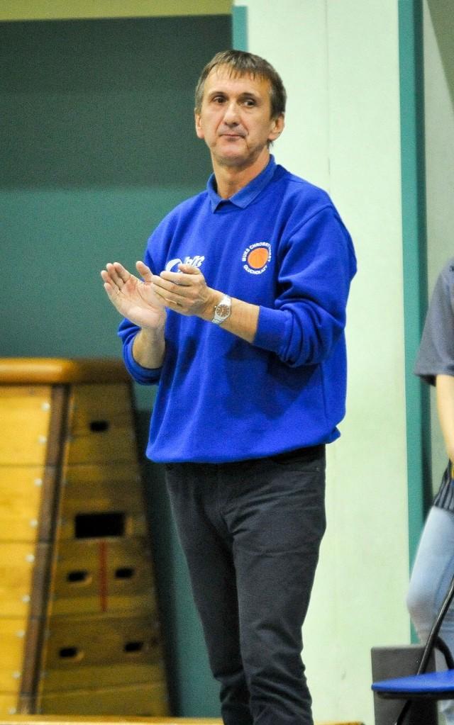 Trener Tadeusz Widziszowski.