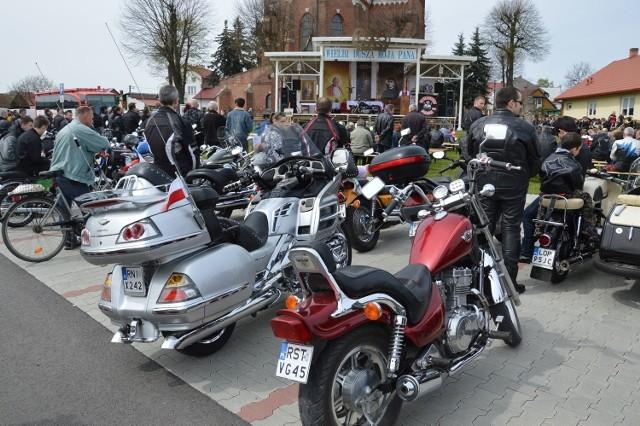 Tu za kościołem, gdzie przed epidemią miały miejsce zloty motocyklistów, będzie zorganizowany kolejny Targ Staroci