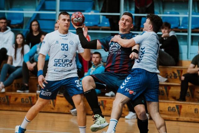 Łukasz Gierak zdobył 3 bramki w meczu z Unią.