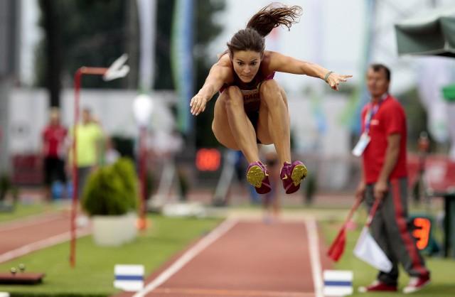 Anna Jagaciak-Michalska pewnie wygrała rywalizację w trójskoku.