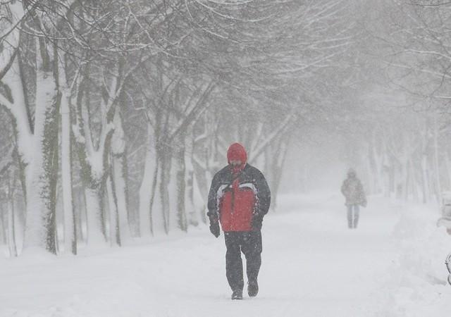 Zima w Słupsku w 2010 roku