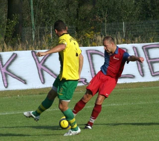 LZS Leśnica - GKS Jastrzebie. Mecz 1/32 Pucharu Polski.