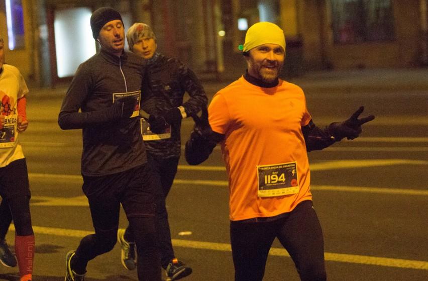 Trzecia Dycha do Maratonu 2018. Nocne marki biegowe w akcji (ZDJĘCIA, WIDEO)