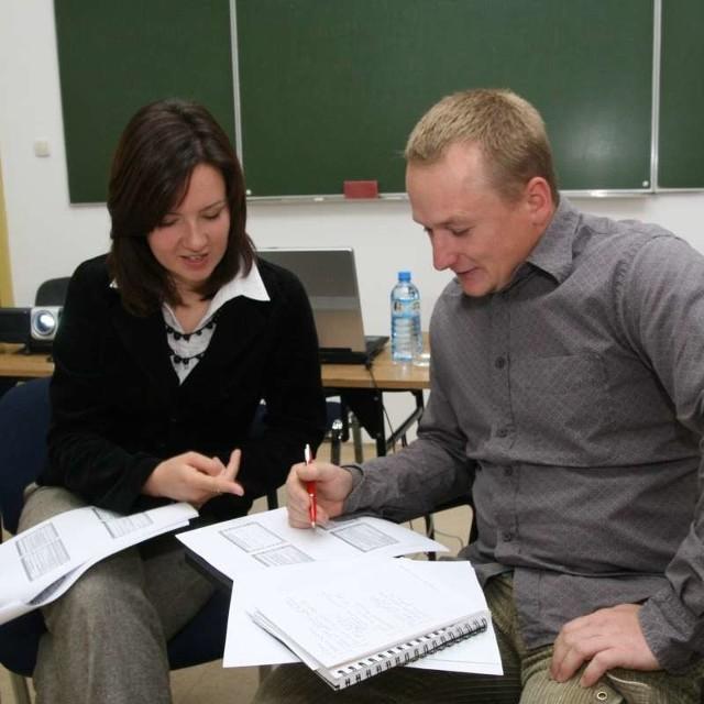 Adrian Rygol wziął udział w pierwszym szkoleniu w WSZiA.