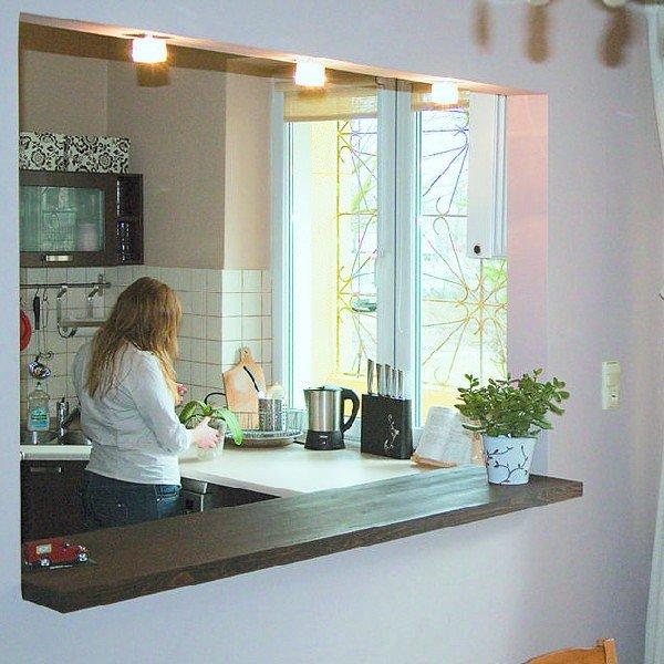 Wewnetrzne Okno W Kuchni I Lazience Pomysl Na Wiecej Swiatla