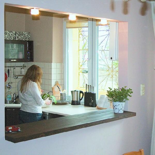 Wewnętrzne Okno W Kuchni I łazience Pomysł Na Więcej