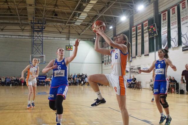 Żaneta Durak zdobyła 20 punktów i była najskuteczniejszą zawodniczką Pomarańczarni