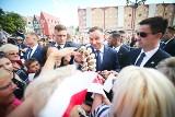 Prezydent Andrzej Duda na Dolnym Śląsku. Dlaczego przyjechał? [ZDJĘCIA]