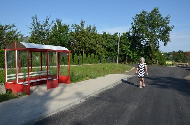 Remont drogi w Krasnej Górze kosztował prawie 297 tysięcy złotych.