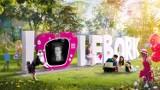 """Telewizor w napisie """"Lębork"""". Wyjątkowa instalacja zgłoszona do Budżetu Obywatelskiego na 2021 r w Lęborku"""