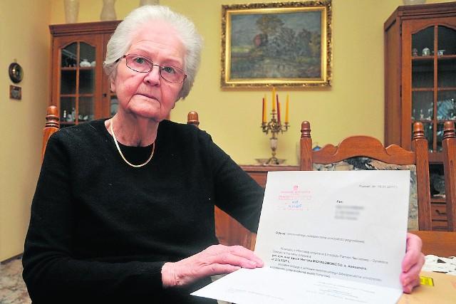 Ewa Ciechańska ma ogromny żal, że jej mąż nie został pochowany w asyście wojska.