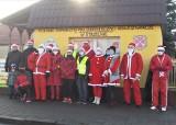 Strzelno. Mikołaje na rowerach pozdrawiali mieszkańców i przypominali o nadchodzącym Bożym Narodzeniu. Zdjęcia