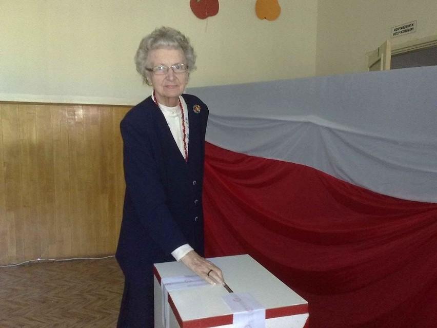 Maria Peszyńska-Biedny przyszła zaraz po 8.00, bo spieszyła się na 8.30 na mszę.