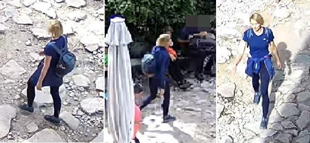 Joanna została nagrana przez monitoring przy schronisku na Hali Gąsienicowej